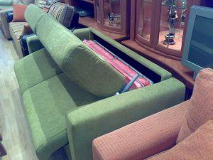 Inicio de apertura de sofá cama sistema italiano