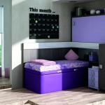 Dormitorios Modulares morado cerrado
