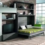 Dormitorios Modulares con cama abierta