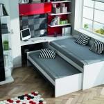 compacto 2 camas y cajones